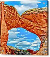 An Impression Of Arches National Park Acrylic Print