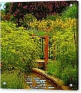 An Impressionists View Acrylic Print