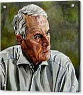 An Interesting Man - Viktor Hesse Acrylic Print
