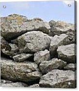 Stone Walls Acrylic Print