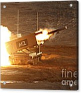 An Israel Defense Force Artillery Core Acrylic Print