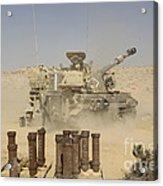 An Israel Defense Force Artillery Corps Acrylic Print