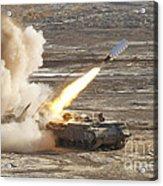 An Israel Defense Force Puma M26 Acrylic Print