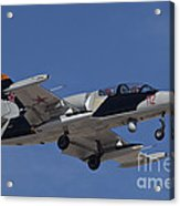 An L-39za Albatros Used As A Threat Acrylic Print