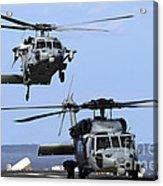 An Mh-60s Sea Hawk Approaches Acrylic Print