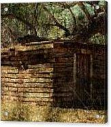An Old Building Acrylic Print