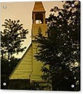 An Old Church Near Moxee Wa Acrylic Print by Jeff Swan
