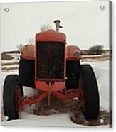 An Old Dase Tractor Acrylic Print