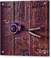An Old Doorbell Acrylic Print
