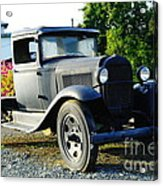 An Old Farm Truck  Acrylic Print