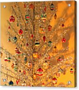 An Old Fashioned Christmas - Aluminum Tree Acrylic Print