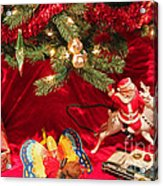 An Old Fashioned Christmas - Santa Claus Acrylic Print