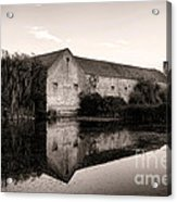 An Old Fortified Farm Acrylic Print by Olivier Le Queinec