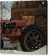 An Old John Deer Acrylic Print by Jeff Swan