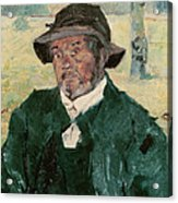An Old Man, Celeyran, 1882 Oil On Canvas Acrylic Print