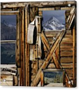 An Old Miners Shack With A View Acrylic Print