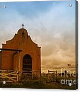 An Old Mission In Northeastern Montana Acrylic Print