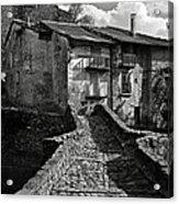 An Old Spanish Town Puente De Montanana Acrylic Print