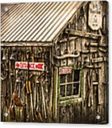 An Old Tool Shed Acrylic Print
