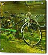 An Old Two Seater Acrylic Print