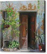 An Open Door Milan Italy Acrylic Print
