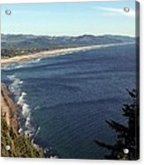 An Oregon View Point Acrylic Print