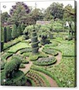 An Ornamental Garden Acrylic Print