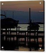 An Outer Anks Of North Carolina Sunset Acrylic Print