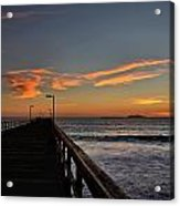 Anacapa Island Pier Acrylic Print