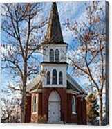 Anaconda Christian Church Acrylic Print