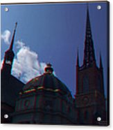 Anaglyph Church Acrylic Print