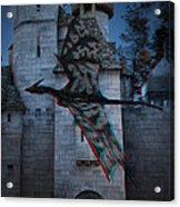 Anaglyph Dragon Acrylic Print
