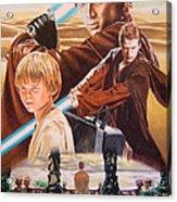 Anakin Skywaler Tatooine Acrylic Print