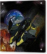10115 Anakin's Starfighter Acrylic Print