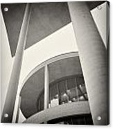 Analog Photography - Berlin Paul-loebe-haus Acrylic Print