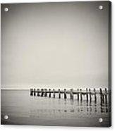 Analog Photography - Martha's Vineyard Horizon Acrylic Print