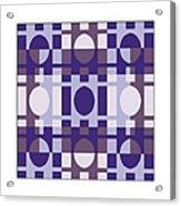 Analogous Color Harmony 4 Acrylic Print