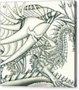 Anare'il The Chaos Dragon Acrylic Print