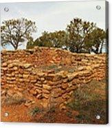 Anasazi Ruins Southern Utah Acrylic Print