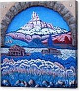 Anasazi Wall Art Acrylic Print by Eva Kato