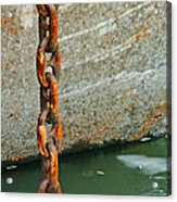 Anchor Chain Acrylic Print