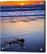 Anchor Ocean Beach Acrylic Print