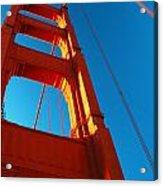 Anchor Of The Golden Gate Acrylic Print