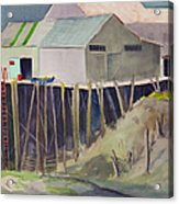 Anchorage Dock 1980s Acrylic Print