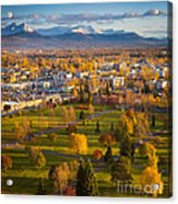 Anchorage Landscape Acrylic Print