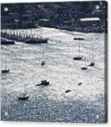 Anchorage Off Of Sausalito Acrylic Print
