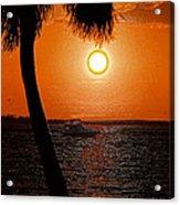 Anchored In Paradise Acrylic Print