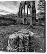 Ancient Abbey Acrylic Print