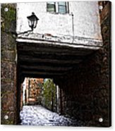 Ancient Alley In Tui Acrylic Print
