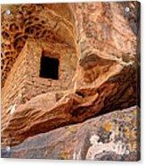 Ancient Anasazi Honeycomb Granary Ruin  Acrylic Print